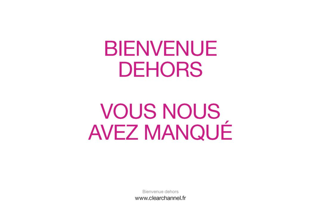 Clear Channel s'affiche