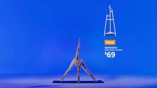 IKEA se met au Yoga