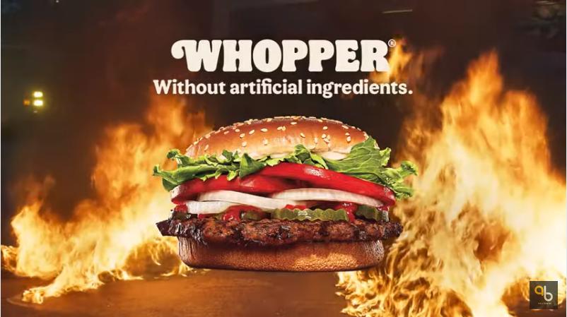 Whopper is on fire