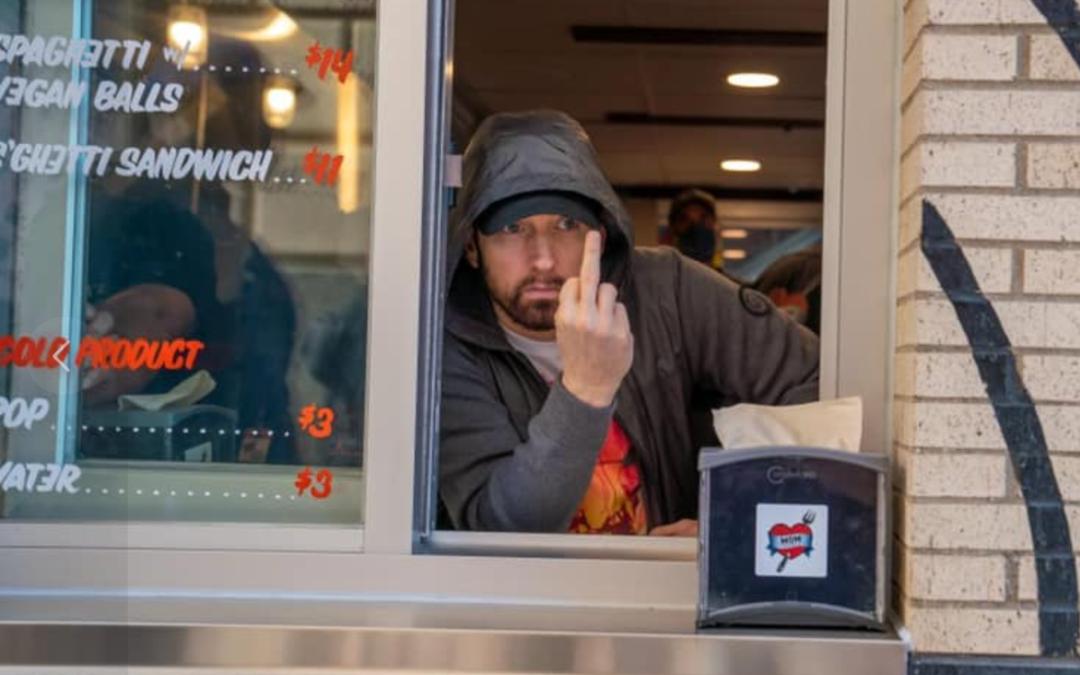 Eminem est une bonne pâte